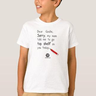 """Enfants - PuckBrain """"maman m'a indiqué"""" le T-shirt"""