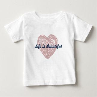 Enfants urbains de chemise de coeur t-shirt pour bébé