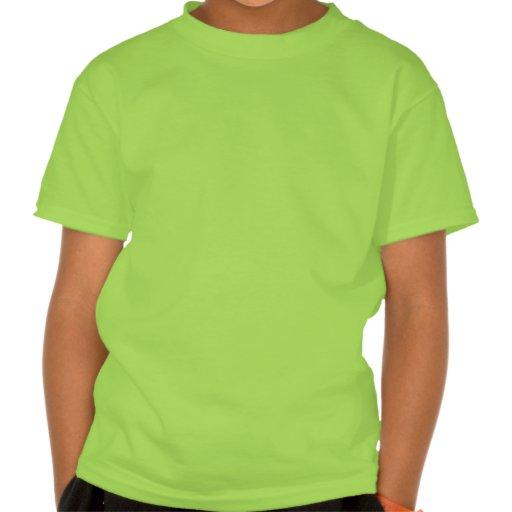 "Enfants verts verticaux de T-shirt de la ""Irlande"""