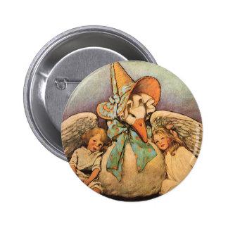 Enfants vintages Jessie Willcox Smith d'oie de Badge Rond 5 Cm