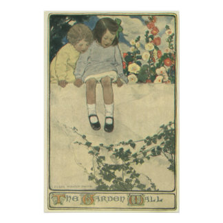 Enfants vintages, mur Jessie Willcox Smith de Poster