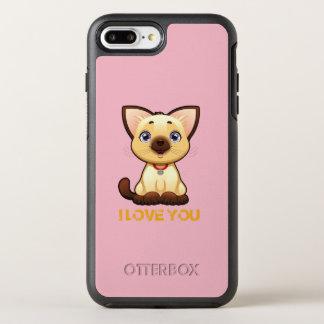 Enferme l'iphone 7 plus coque otterbox symmetry pour iPhone 7 plus