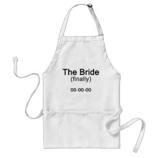 Enfin le cadeau de jeune mariée tabliers