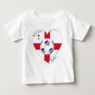 «ENGLAND» Soccer Team. Football de l'Angleterre T-shirt Pour Bébé