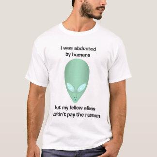 Enlevé par des humains (habillement) t-shirt