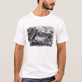 Enlèvement de Robinson Crusoe T-shirt