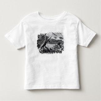 Enlèvement de Robinson Crusoe T-shirt Pour Les Tous Petits