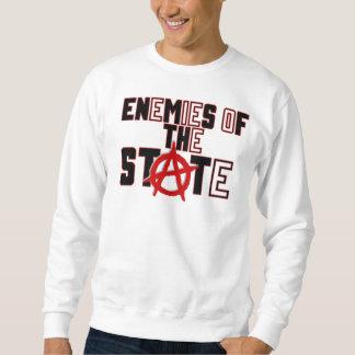 ennemi de l'état sweat-shirt