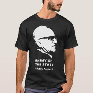 Ennemi de Murray Rothbard de l'état T-shirt