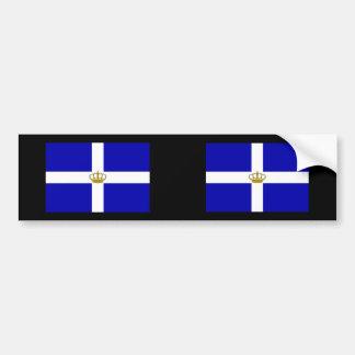 Énoncez   le royaume Grèce, Grèce Autocollant Pour Voiture