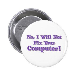 Énonciation drôle au sujet des ordinateurs pin's