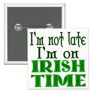 Énonciation drôle de temps irlandais pin's