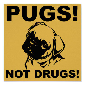 Énonciations drôles de signe d'affiche de drogues poster
