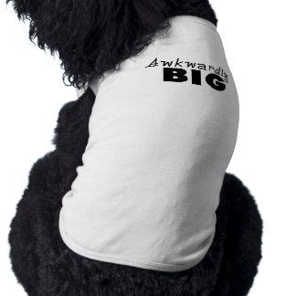 Énonciations drôles maladroitement grandes manteaux pour chien