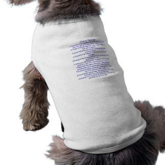 Énonciations drôles t-shirt pour chien