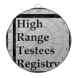 Enregistrement à large gamme de Testees (HRTR) Jeu De Fléchettes