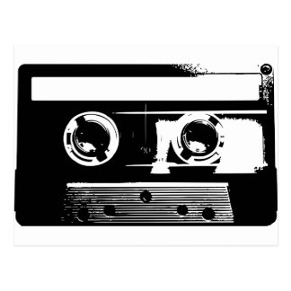 Enregistreur à cassettes carte postale