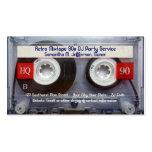 Enregistreur à cassettes d'amusement cartes de visite personnelles