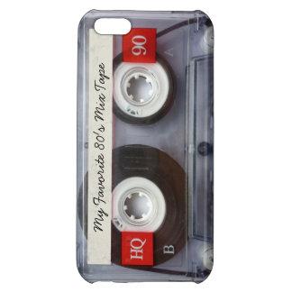 Enregistreur à cassettes drôle des années 80, pers