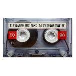Enregistreur à cassettes Extraordinaire du DJ Modèle De Carte De Visite