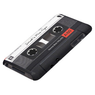 Enregistreur à cassettes fait sur commande coque barely there iPod