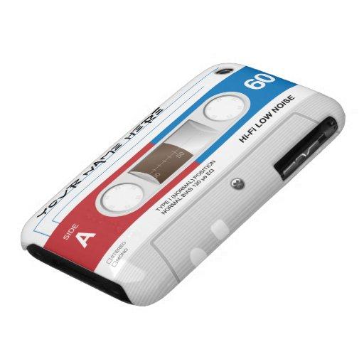 Enregistreur à cassettes personnalisable coque Case-Mate iPhone 3