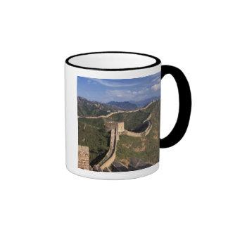 Enroulement de Grande Muraille par la montagne, Mug Ringer