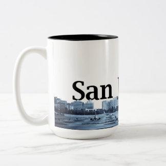 Enrouler d'horizon de San Jose autour de tasse