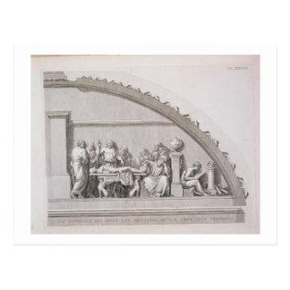 Enseignement de Hippocrate (c.460 BC-c.377 AVANT Carte Postale