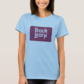 Enseignez/apprenez l'illusion optique t-shirt