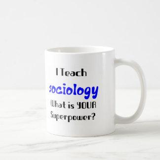 Enseignez la sociologie mug