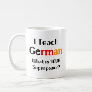 Enseignez l'allemand mug