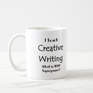 Enseignez l'écriture créative mug