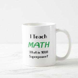 Enseignez les maths mug