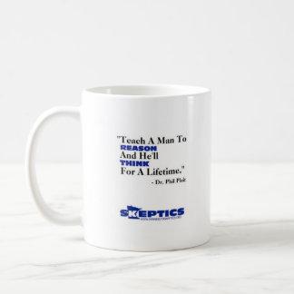 Enseignez un homme à raisonner… mug