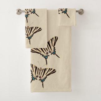 Ensemble botanique de serviette de Bath de