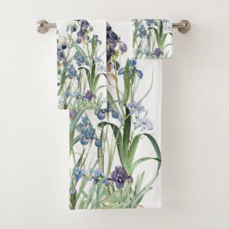 Ensemble botanique de serviette de Bath de Redoute