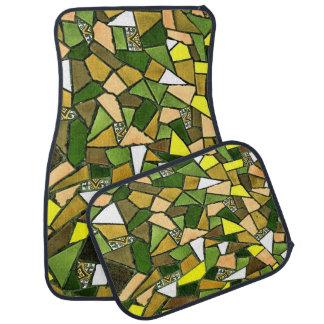 Ensemble criqué décoratif de carreau de céramique tapis de sol