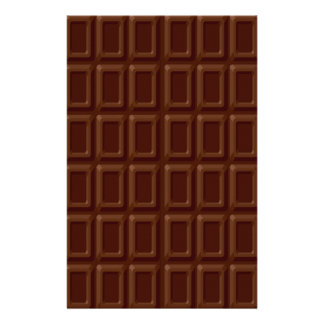 Ensemble de barre de chocolat