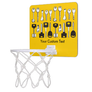 Ensemble de clés mini-panier de basket