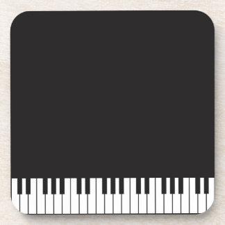 Ensemble de dessous de verre de clés de piano