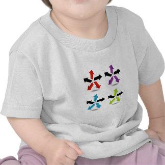Ensemble de flèches colorées t-shirt