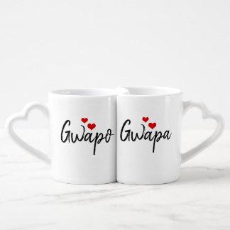 Ensemble de la tasse de l'amant de Gwapa_Gwapo