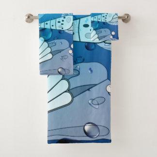 Ensemble de serviette de Bath de Chambre de plage