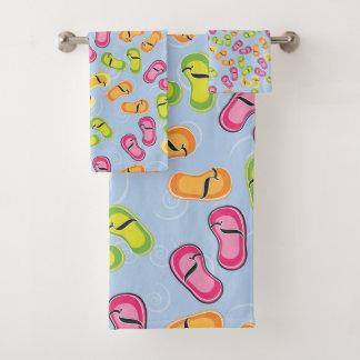 Ensemble de serviette de salle de bains, bascules