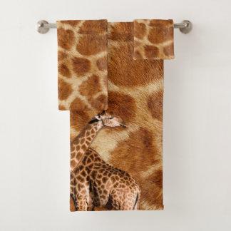 Ensemble de serviette de salle de bains de la