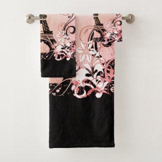 Ensemble de serviette de salle de bains de Paris
