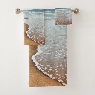 Ensemble de serviette de salle de bains de plage
