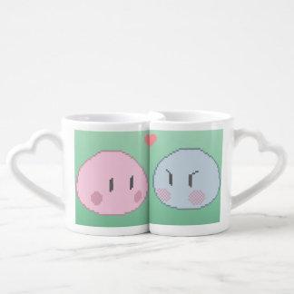 Ensemble de tasse de Dango d'amant