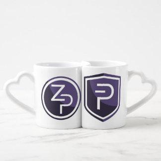 Ensemble de tasse de thé de zPIV de PIVX